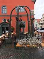 Fountain in the market
