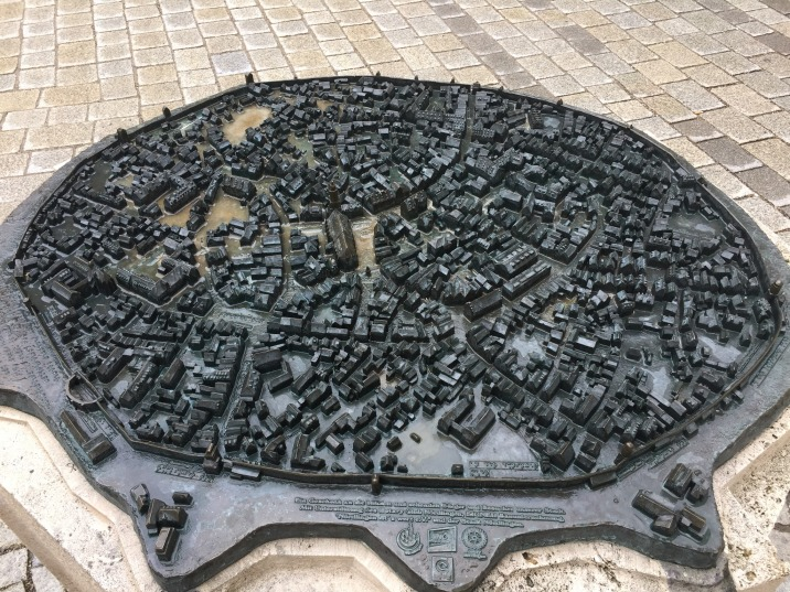 Miniature sculpture of Nördlingen