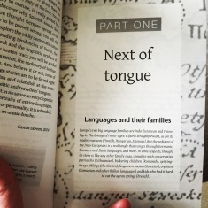 Chapter one - Next of tongue