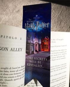 My Harry Potter Studios Bookmark