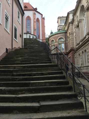A hidden staircase